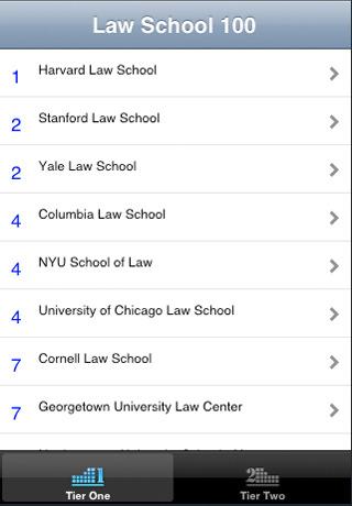 Law school 100 iphone
