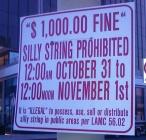 Sillystring