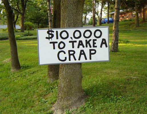 Sign-crap