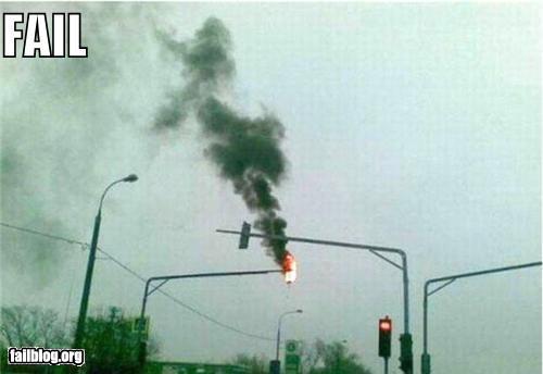 Traffic-light-fail